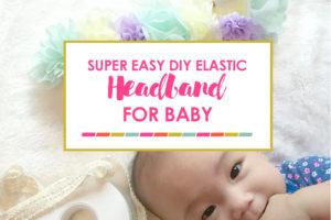 DIY Elastic Headband for Baby