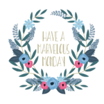 Marvelous monday floral wreath