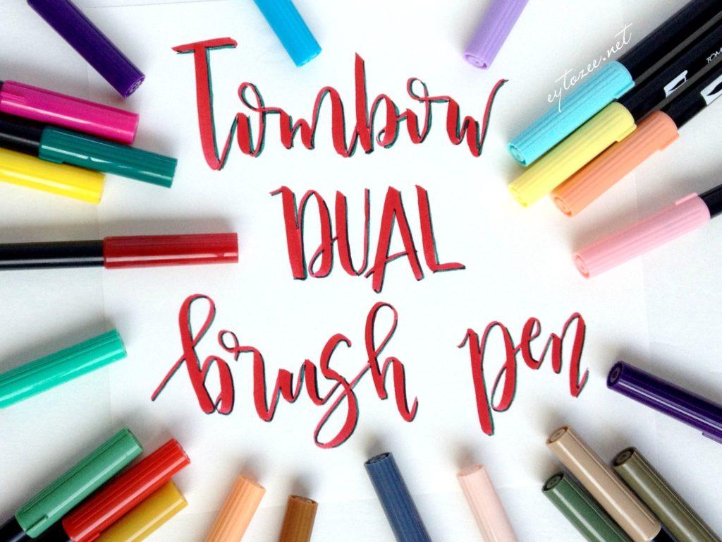 brush pens comparison