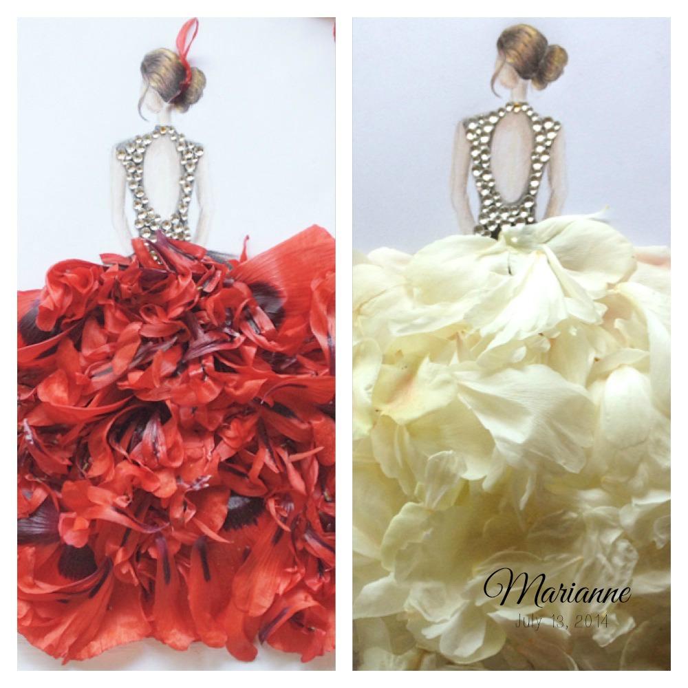 ballerina ball gown