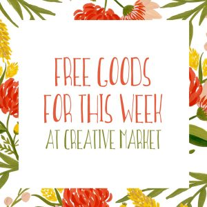 Free Goods for this Week