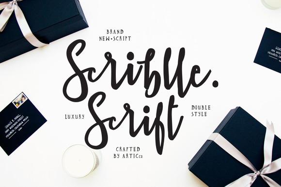 scrible-script
