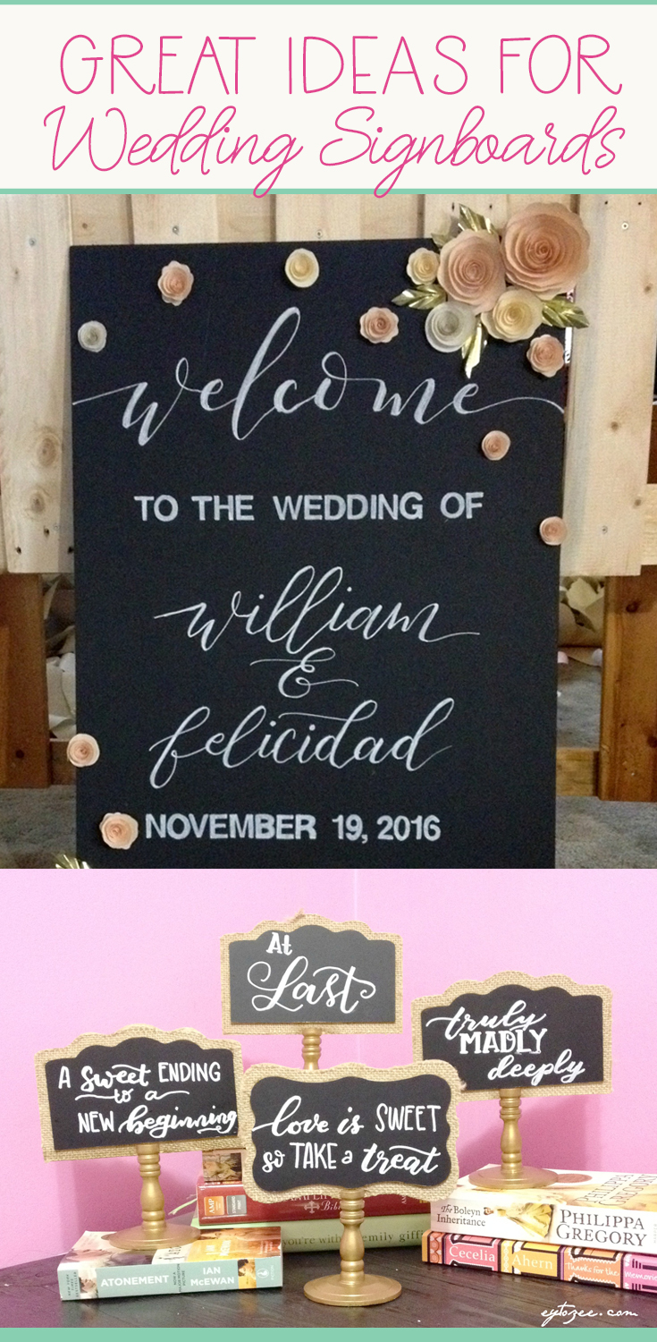 wedding signboards