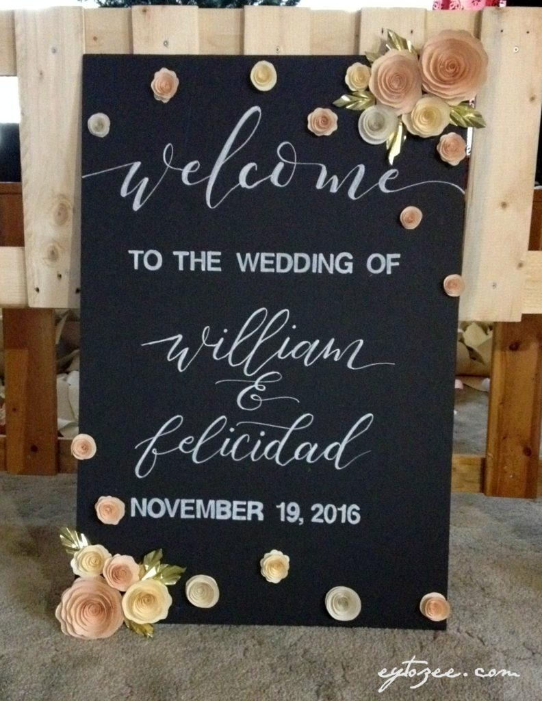 welcome wedding signboards