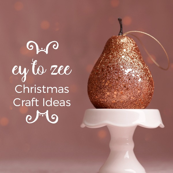 A to Z christmas craft ideas