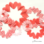 Heart Chain Doily