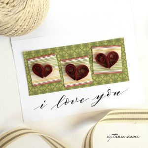 Quilled Paper Heart