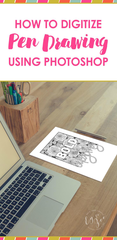 digitize pen drawing