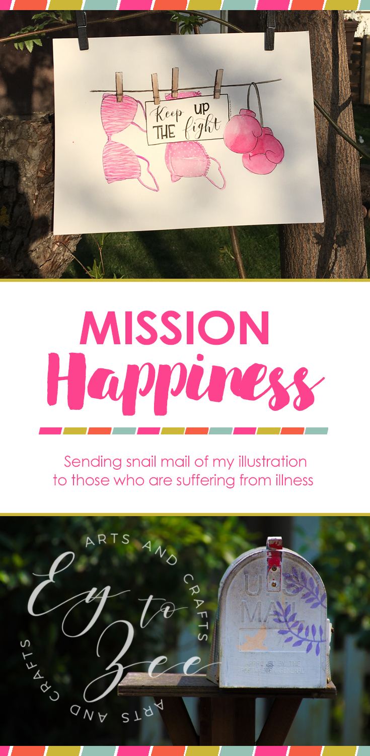 mission happiness through illustrations