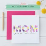 Free Printable Mother's Day Greeting Card