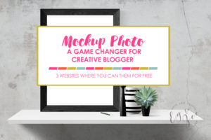 Using Mockup Photo: A Game Changer for Creative Blogger