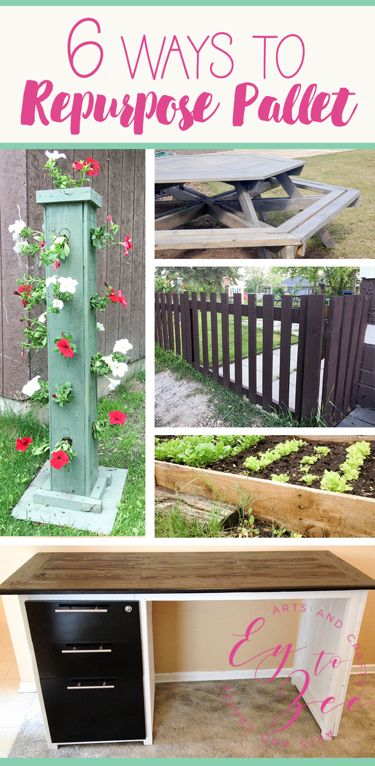 6 ways to repurpose pallet