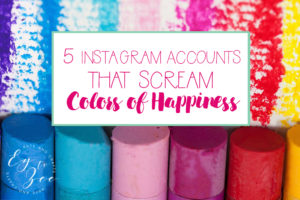 5 Instagram Accounts that Scream Colors of Happiness