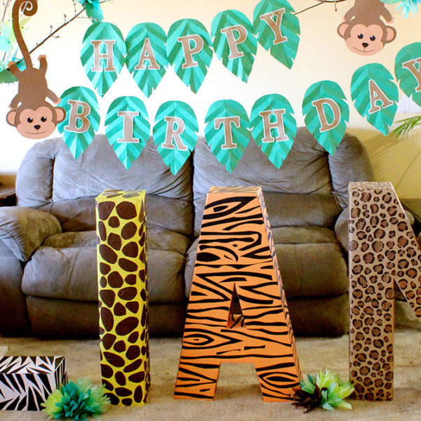 Liam's Safari Themed Party