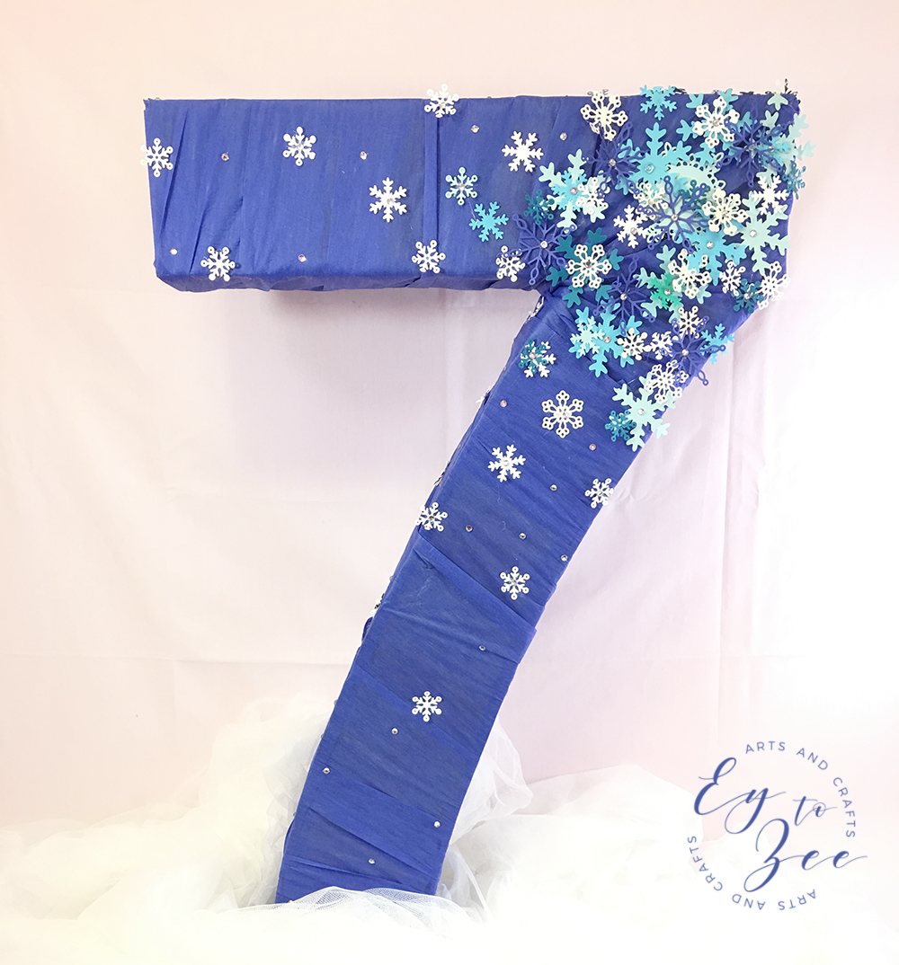 number for frozen themed party