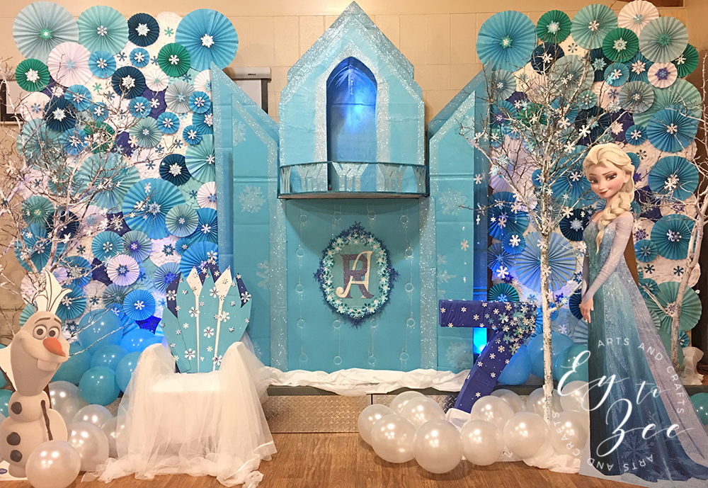 Frozen Themed Party Decoration Ideas Part - 23: Frozen Themed Party