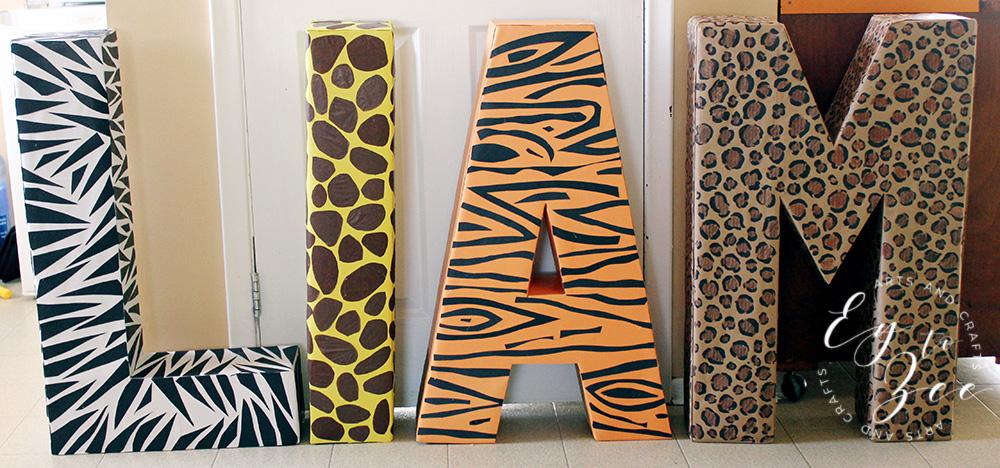 Big 3D Letters