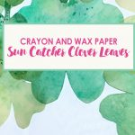 Sun Catcher St. Patrick's Day Clover Leaf