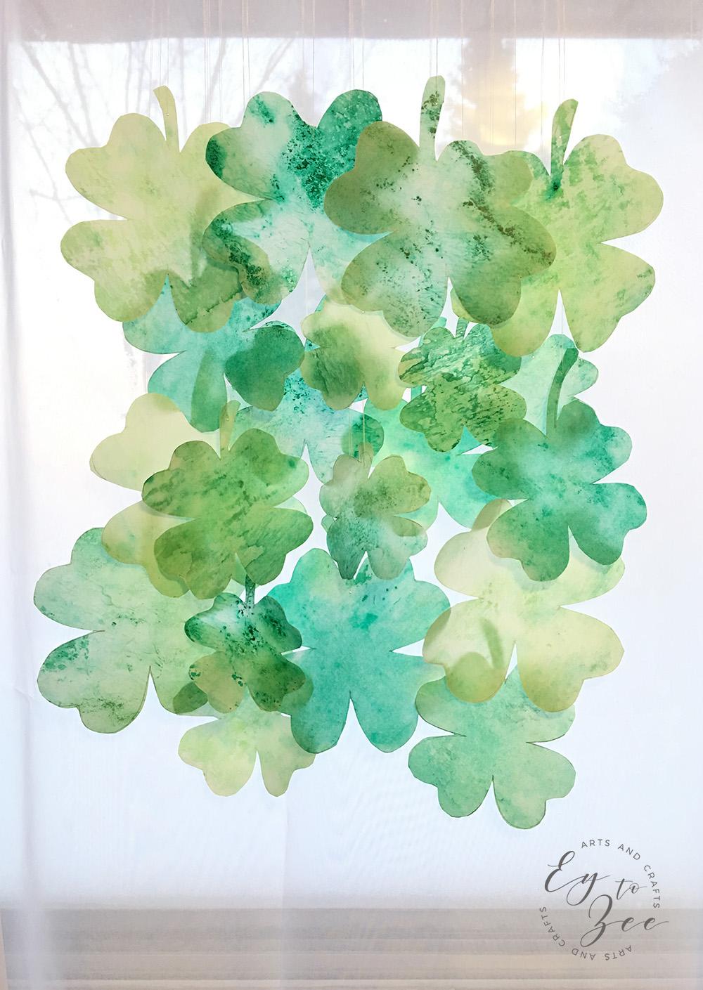 St. Patrick's Day Clover Leaf
