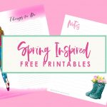 Spring Inspired Free Printables
