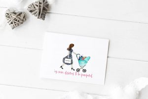 Freebie: Mother's Day Card and Shopping List Printables