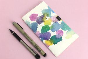 DIY Mini Jotter Notebook
