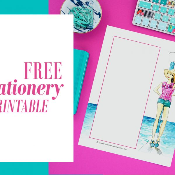 Free Stationery Printable