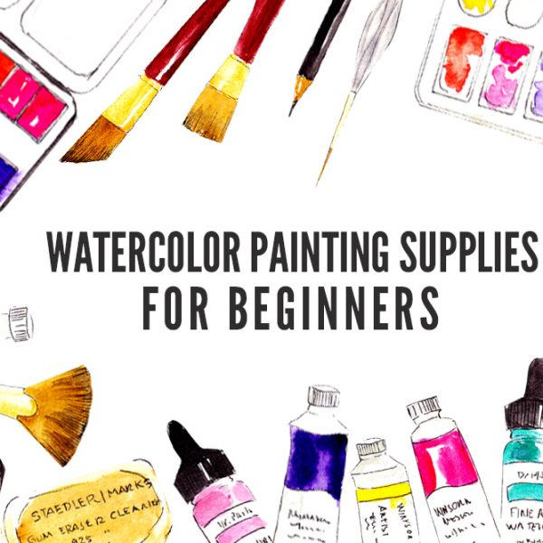 Basic Watercolor Painting Supplies for Beginners