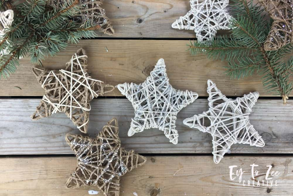 String Star Ornament
