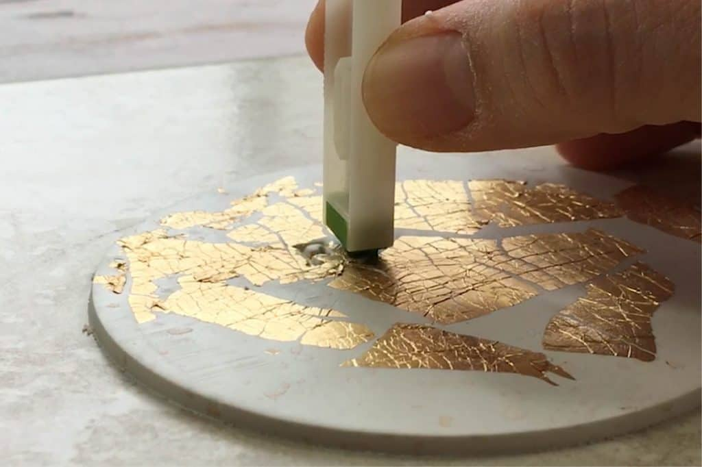 Stamping on Polymer Clay