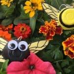 bee egg carton craft