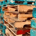 colored pallets