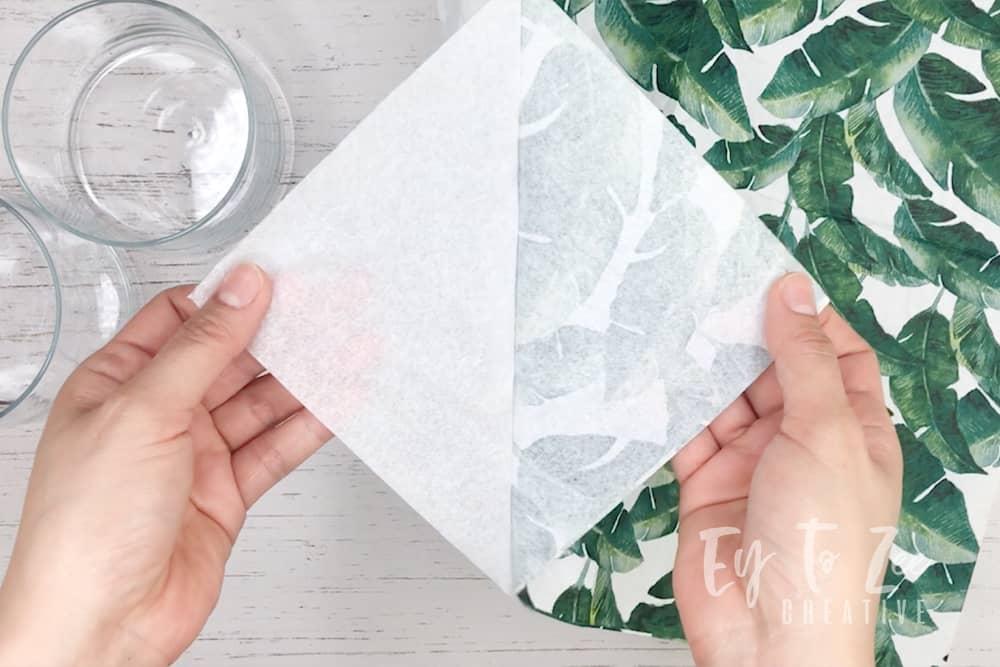 decorative paper napkin