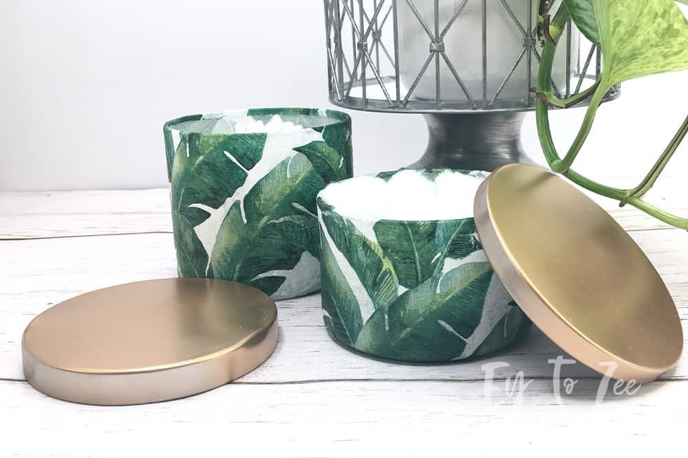 Repurpose Candle Jar