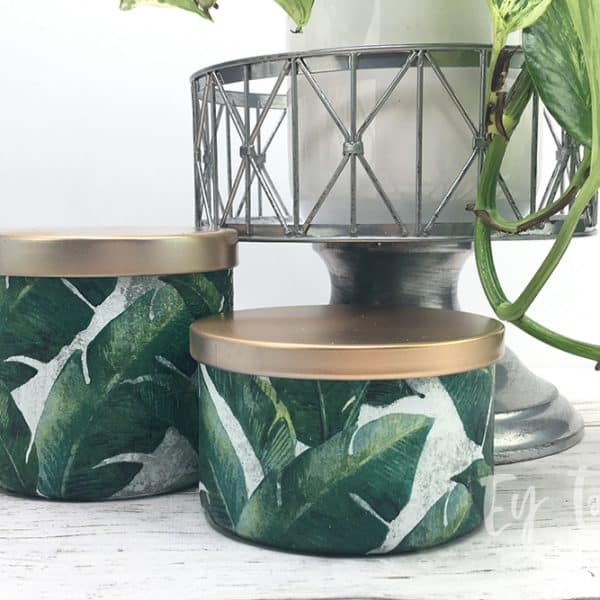 How to Repurpose Candle Jars Into a Functional Piece Decor