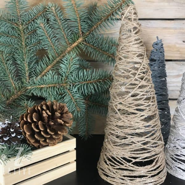 How to Make a Budget-Friendly String Christmas Tree